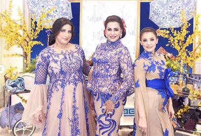 Inspirasi Baju Kembaran Ala Keluarga Tasya Farasya; Elegan