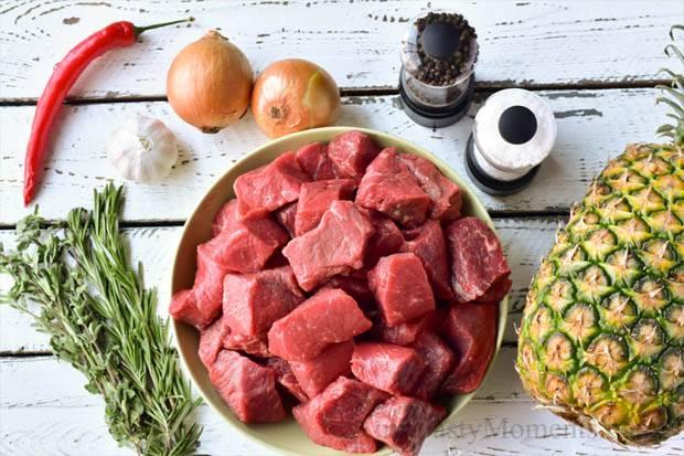 Nanas Sebagai Pengempuk Daging