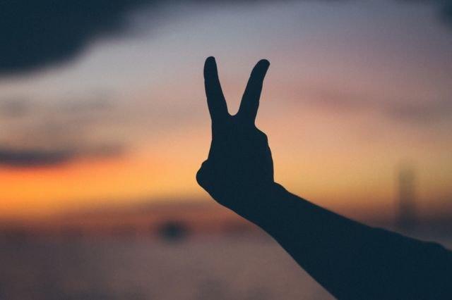 Karena damai itu tenang