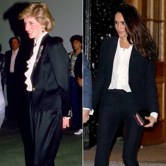 11 Momen Saat Style Meghan Markle Sama Dengan Lady Diana