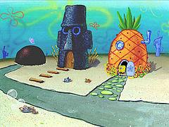 Rumah SpongeBob dan Tetangganya