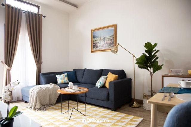 Sofa Disesuaikan dengan Bentuk Ruangan