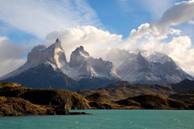 Pemandangan Torres del Paine