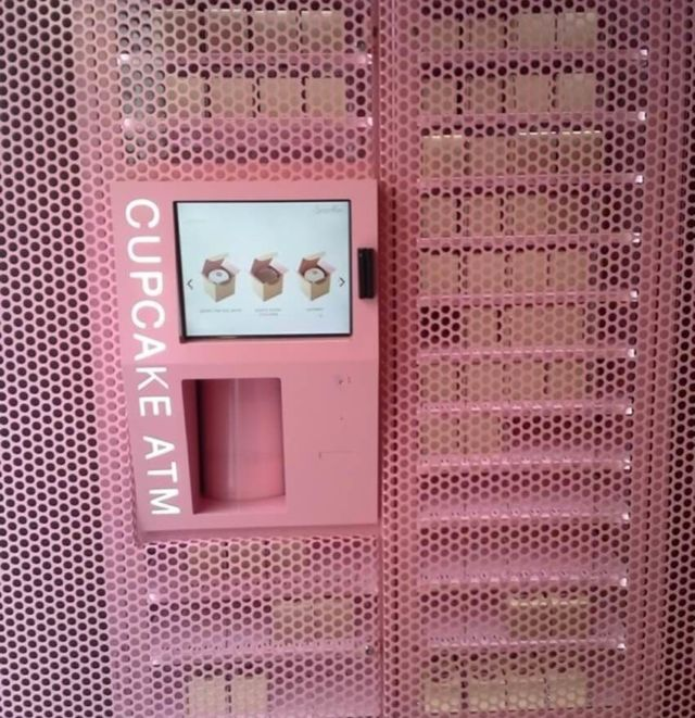 cupcake di vending machine
