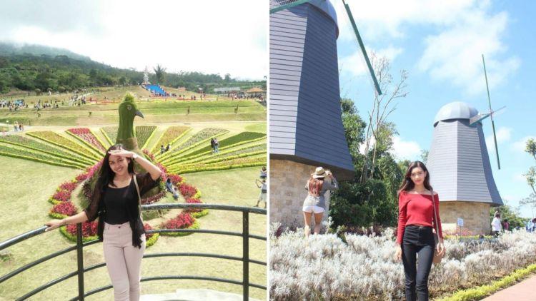 The Blooms Garden Destinasi Instagramable Yang Lagi Hits Di