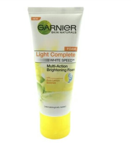 Garnier Facial Foam Lemon