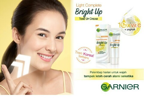 Garnier light complete bright up tone up ceeam