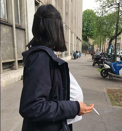 wanita hamil merokok