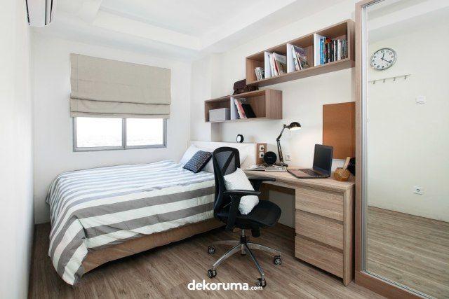 Kamar Tidur dengan Storage Tambahan