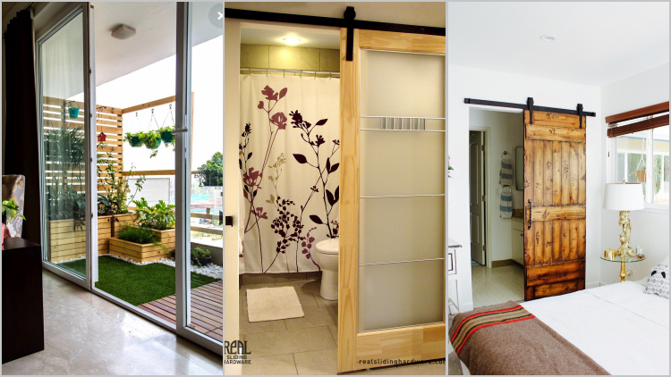 11 Desain Pintu Geser Unik Untuk Rumah Sempit Bikin Cantik