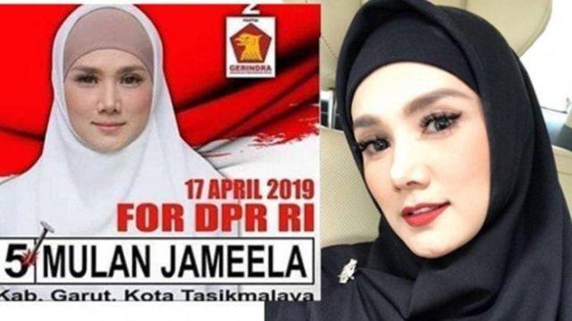 Mulan Jameela Jadi Anggota Dpr Usai Rebut Kursi 2 Koleganya Di Gerindra Sampai Diprotes Warga