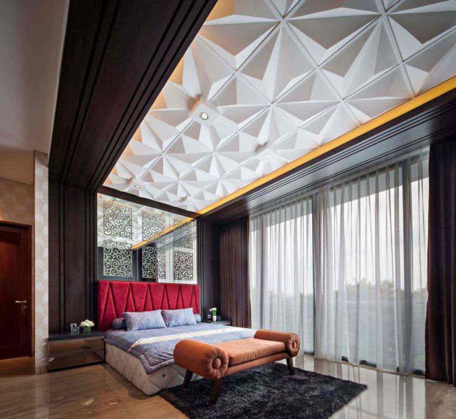 Intensitas cahaya yang cukup untuk kamar yang nyaman, desain F+W House karya Dp+Hs Architects