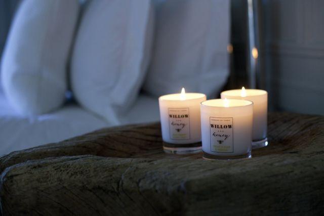 Lilin aromaterapi untuk meningkatkan kenyamanan dalam kamar