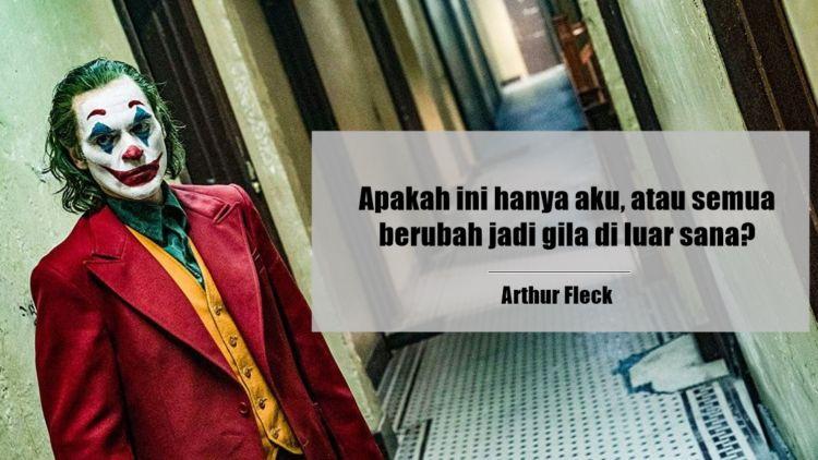 10 Kutipan Arthur Fleck Dari Film Joker Yang Super Mantul