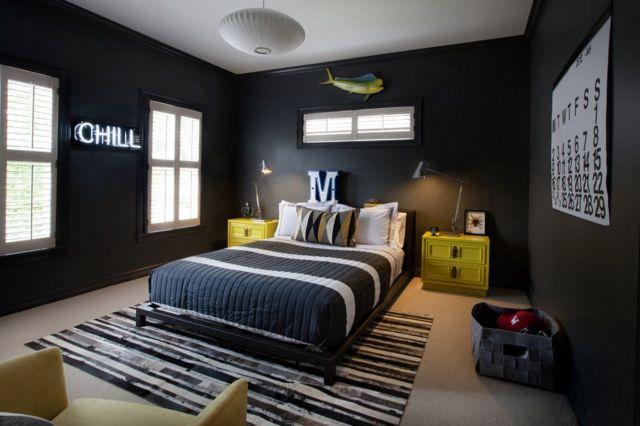 Warna-Warna Nyala di Kamar Tidur