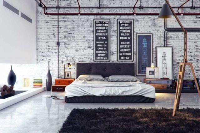 Kamar Tidur Industrial