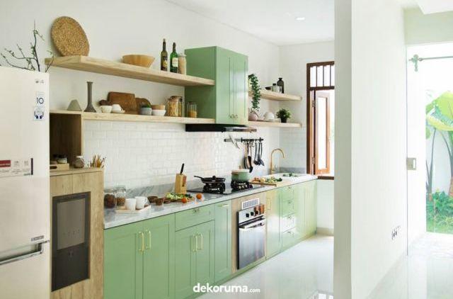 Desain Dapur Sempit Memanjang  biar masak makin seru intip 5 desain dapur untuk rumah mungilmu