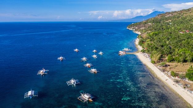 Pantai di Negara Filipina