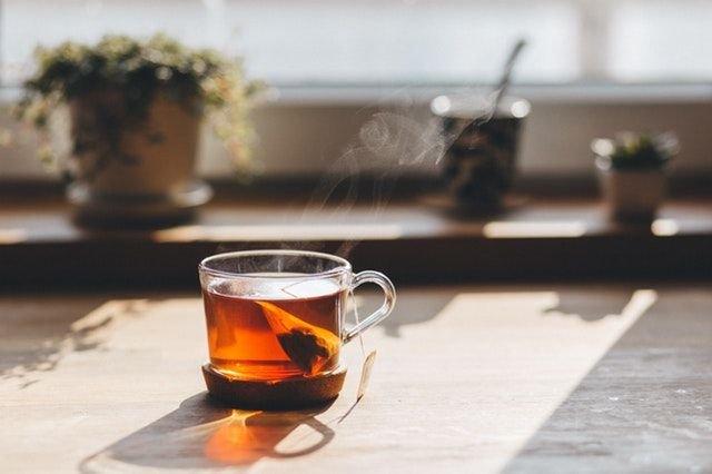 secangkir teh agar hidup lebih santuy