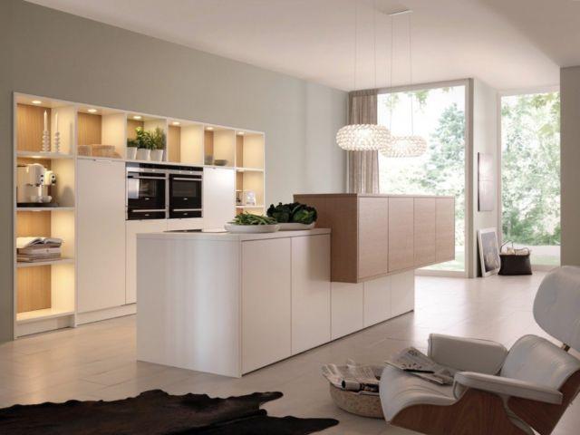 Dapur Minimalis dengan Panel Lemari Kayu