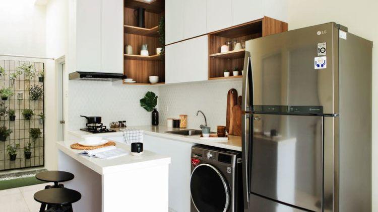 Variasi Kitchen Set Khusus Untuk Dapurmu Yang Mungil Tetap Manis Dan Rapi Meski Lahan Sempit