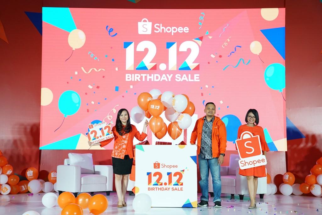 Shopee Gelar Promo Besar Besaran Akhir Tahun Lewat Shopee 12 12 Birthday Sale Apa Aja Promonya