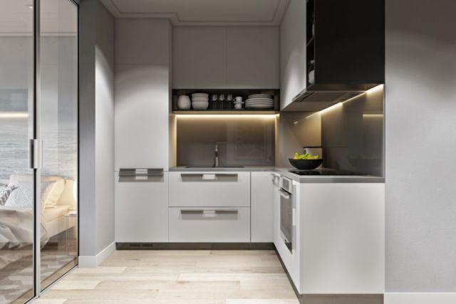 Kitchen Set Huruf L