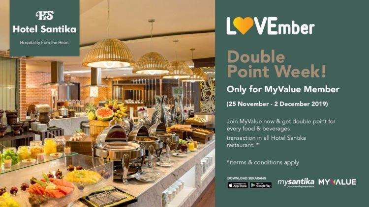 Buat Kamu Yang Nggak Mau Rugi Ada Diskon 50 Makan Di Restoran Hotel Santika Yuk Serbu