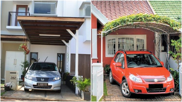10 Desain Kanopi Minimalis Di Depan Rumah Buat Garasi Tempat