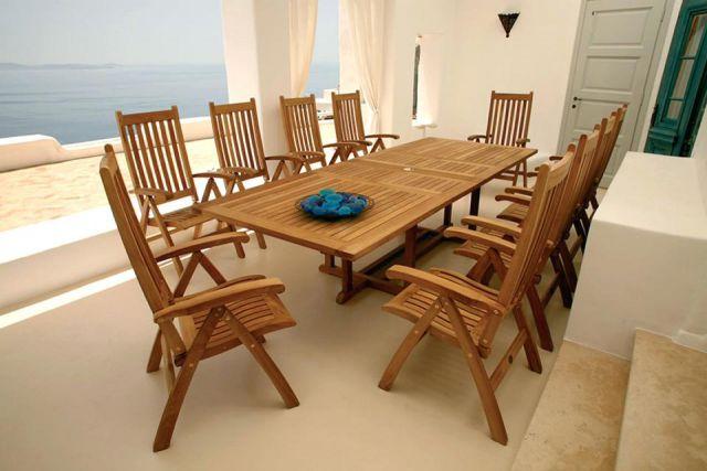 Set Furnitur dari Kayu Jati
