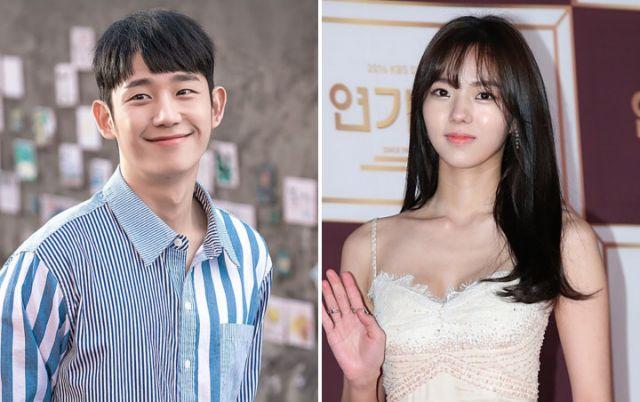 Jung Hae In dan Chae Soo Bin.