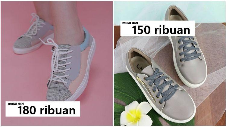 7 Rekomendasi Merek Sneakers Cewek Lokal Desain Keren Harga