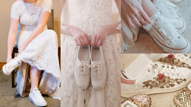 Sepatu Pernikahan Bertema Milenial
