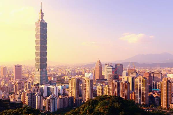 Pemandangan Taipei101