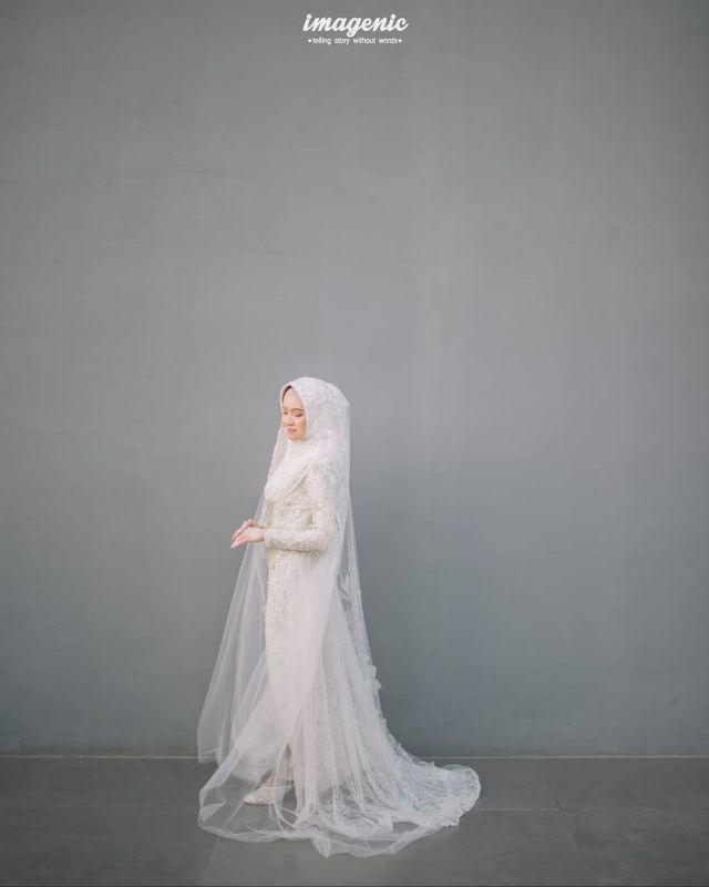 11 Gaun Muslimah Untuk Pernikahan Outdoor Anti Gerah Bersahaja Namun Tetap Glamor
