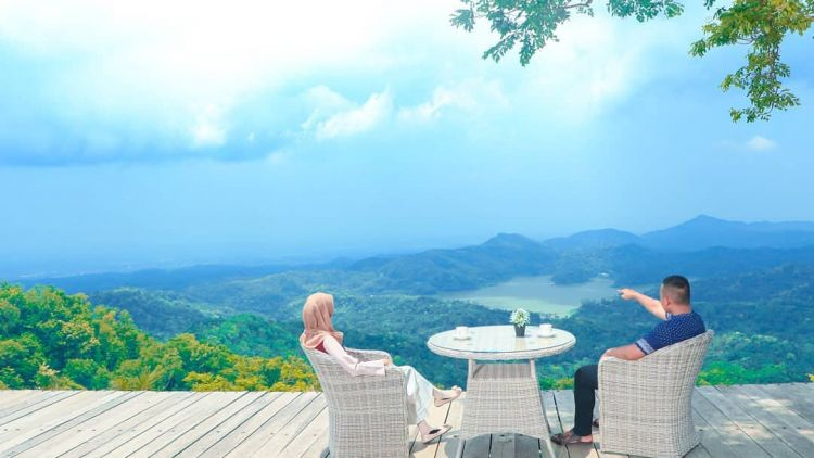 Pule Payung Kulon Progo Wisata Alam Dengan Pemandangan