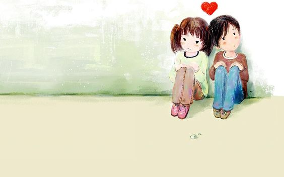 Ilustrasi pasangan yang bahagia (http://valentines-wallpapers.blogspot.com/2012/01/romantic-couple-wallpapers.html)