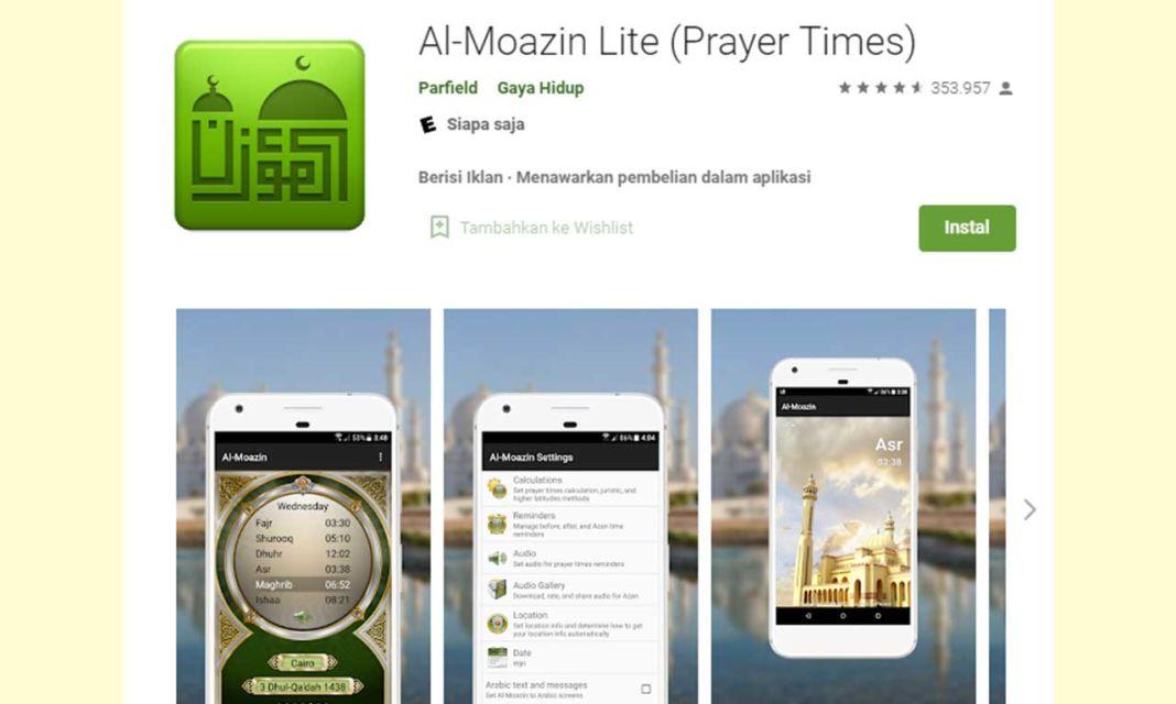 Aplikasi Al-Moazin