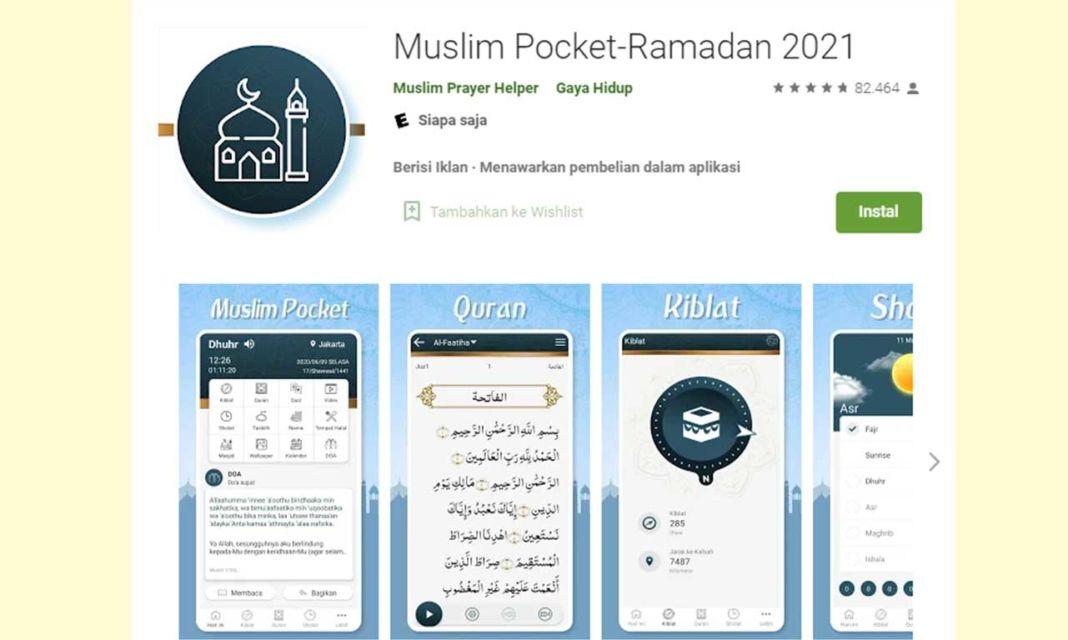 Aplikasi Muslim Pocket