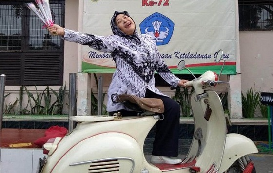 Mabu Guru senirupa SMP di Bandung