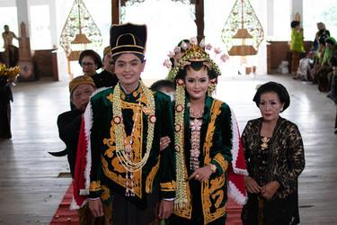 Pengantin Wahyu Merapi Pacul Goweng / Doc. Harpi Melati Kabupaten Boyolali