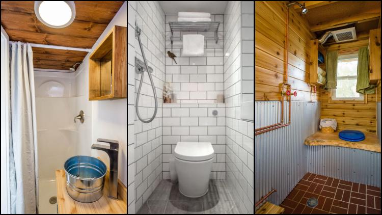 8 Contoh Kamar Mandi Pakai Shower Berukuran Sempit Hemat Tempat Nggak Perlu Sedia Bak Lagi