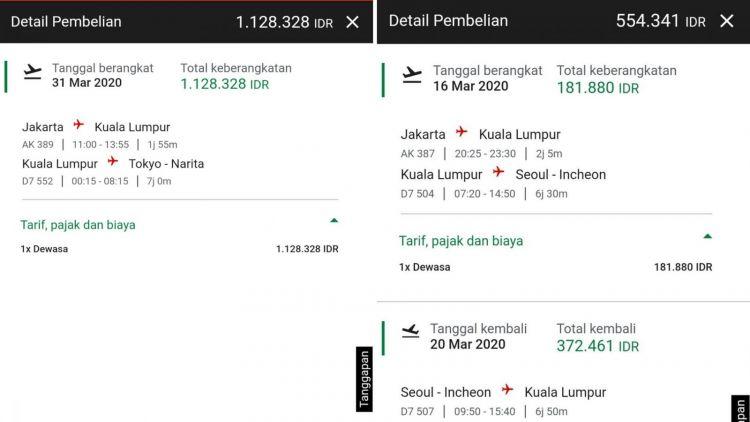 Tiket Pesawat Diobral Murah Terbang Ke Singapura Cuma 166 Ribu Ke Korea 188 Ribu Rupiah Doang