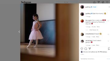 Fokus kepada guru balet online