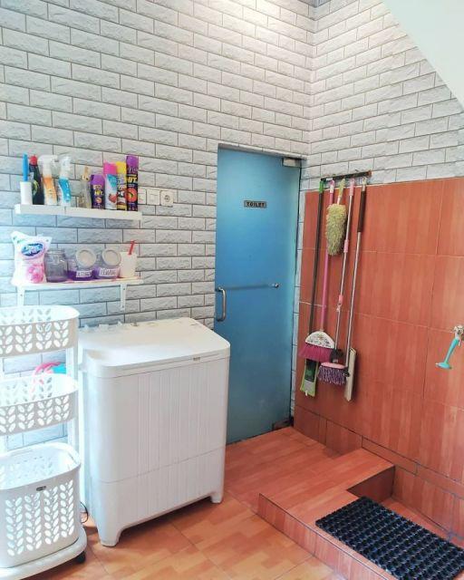 10 Spot Nyempil Dalam Rumah Untuk Menaruh Mesin Cuci Untungnya Muat Nyucinya Harus Teliti
