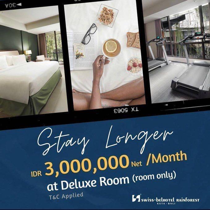 Rugi Terdampak Corona Hotel Hotel Di Bali Kasih Diskon Gila Nginep Sebulan Cuma 3 Juta