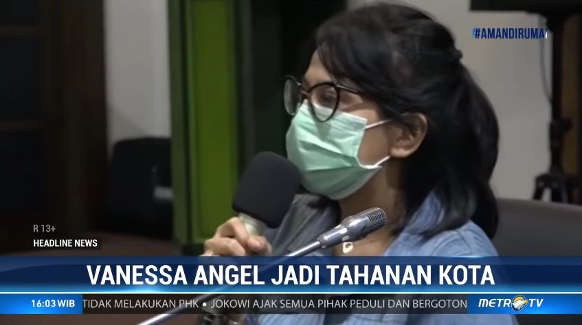 Status Naik Jadi Tersangka Kasus Narkoba Vanessa Angel Berterima