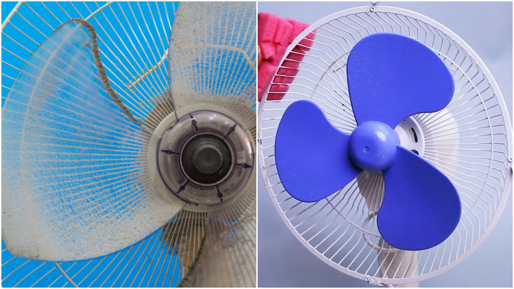 Tips Mudah Membersihkan Kipas Angin yang Berdebu dengan Tuntas. Nggak Cukup Pakai Kemoceng Saja