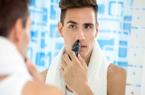 Jangan lupa cukur bulu hidung