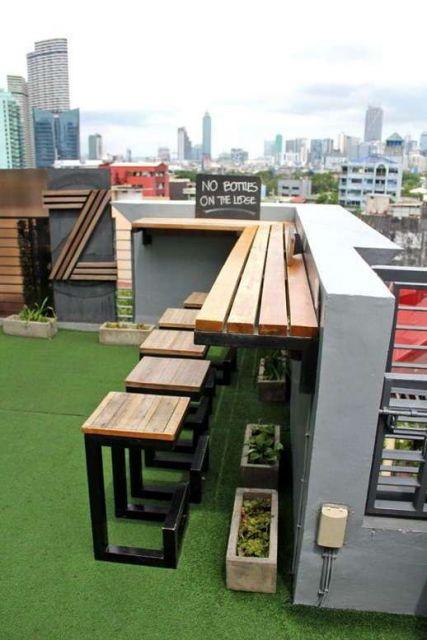 10 Desain Rooftop Sempit Untuk Tempat Bersantai. Alternatif Seru Selain  Buat Jemur Pakaian